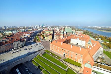 Warszawskie Stare Miasto i Park Fontann