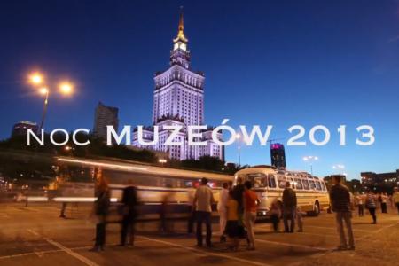 Noc Muzeów w Warszawie 2013
