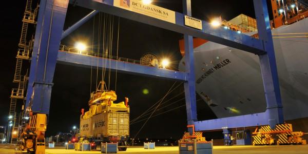 foto 12 – Maersk w DCT Gdańsk