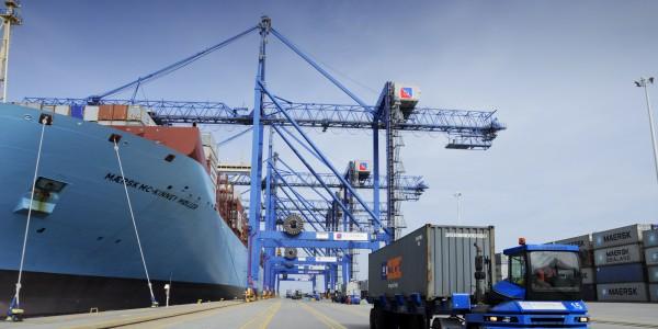 foto 13 – Maersk w DCT Gdańsk
