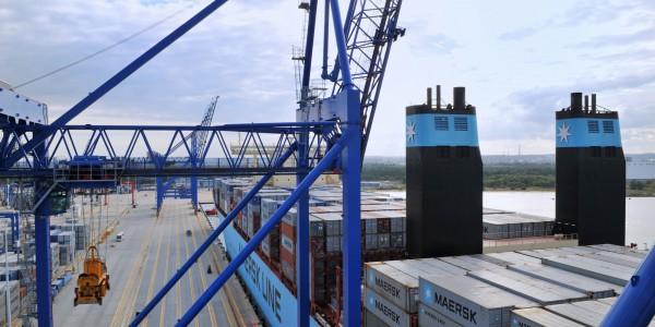 foto 15 – Maersk w DCT Gdańsk
