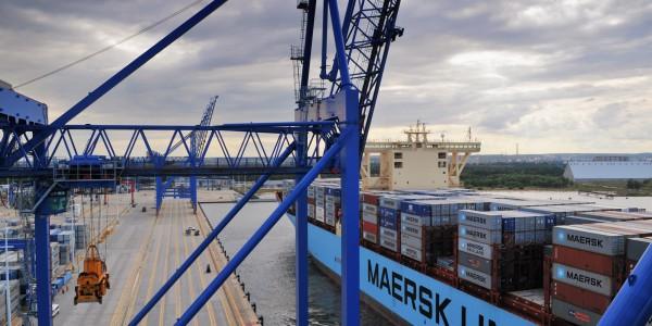 foto 16 – Maersk w DCT Gdańsk
