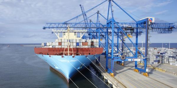 foto 2 – Maersk w DCT Gdańsk