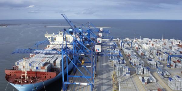 foto 3 – Maersk w DCT Gdańsk