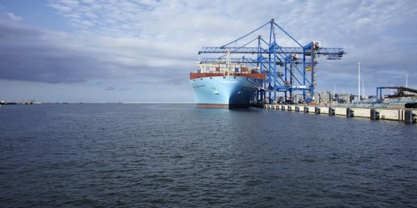 foto 4 – Maersk w DCT Gdańsk