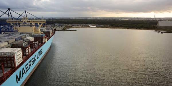 foto 5 – Maersk w DCT Gdańsk