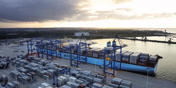 foto 6 – Maersk w DCT Gdańsk