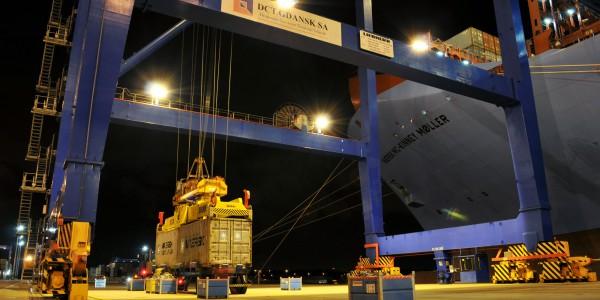 foto 9 – Maersk w DCT Gdańsk
