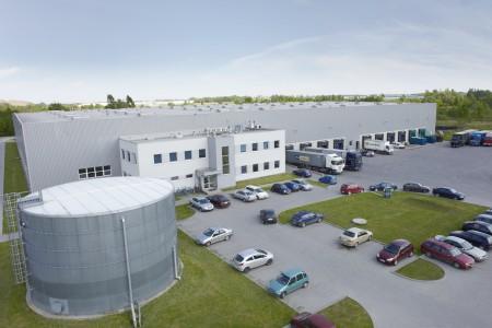 Millenium Logistic Park Pruszków II z lotu ptaka