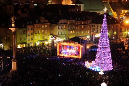 Wielka Iluminacja Warszawy 2012
