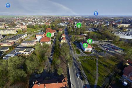 Interaktywna prezentacja terenów dla miasta Knurów