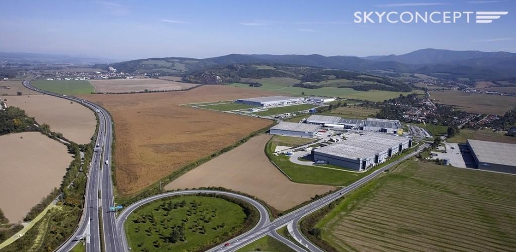 Przykładowe zdjęcie lotnicze wykonane naszym dronem