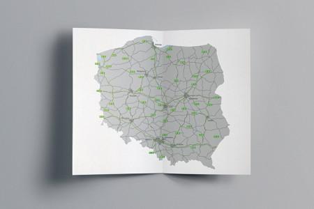 Wyróżnij się graficznie | Dedykowane mapy dla Goodman Poland