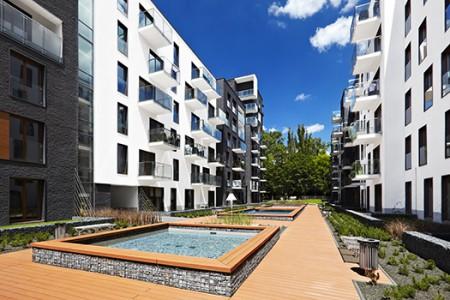 Fotograficzne ujęcia Apartamentów Novum