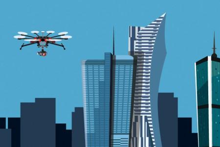 Bezpieczne loty dronem [infografika]