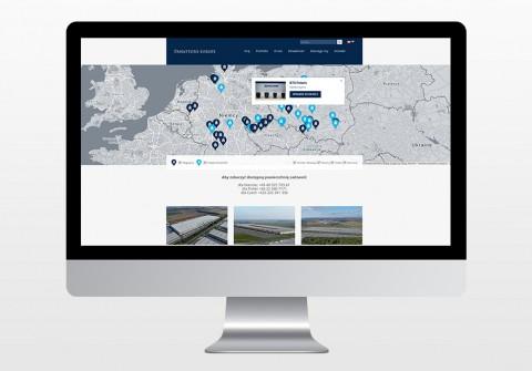 Strona www Panattoni Europe