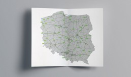 Use graphics to stand out | Dedicated maps for Goodman Poland