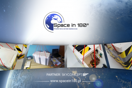 Space in 180, czyli lot do stratosfery z Karolem