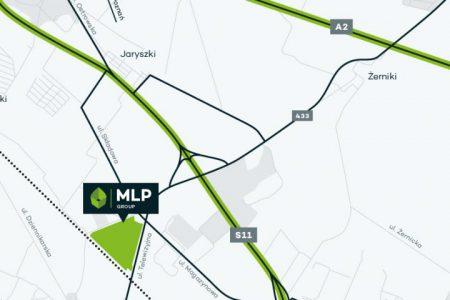 Graficzna prezentacja oferty MLP Group