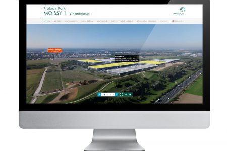 Modernity and functionality – Prologis Park Moissy 1