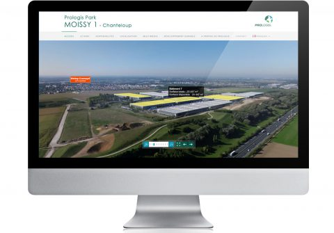 Prologis Park Moissy Website