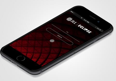 Aplikacja mobilna Eclipse CRM dla JLL