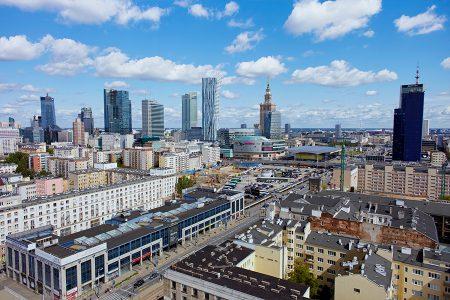 Biznesowe centrum Warszawy 2017