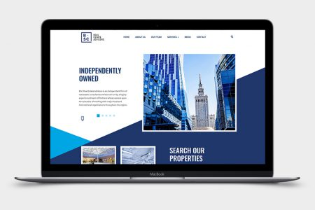 Korporacyjna wizytówka BSC Real Estate Advisors